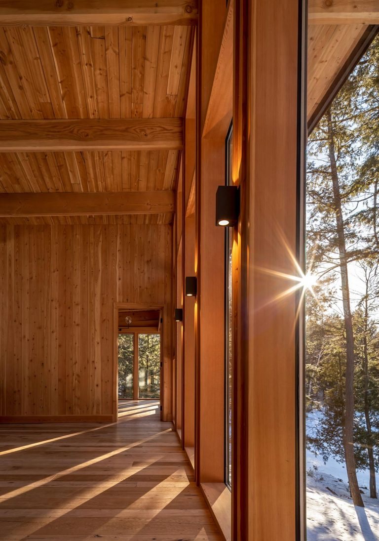 Modern Timber Cottage Design Toronto Architect Trevor McIvor