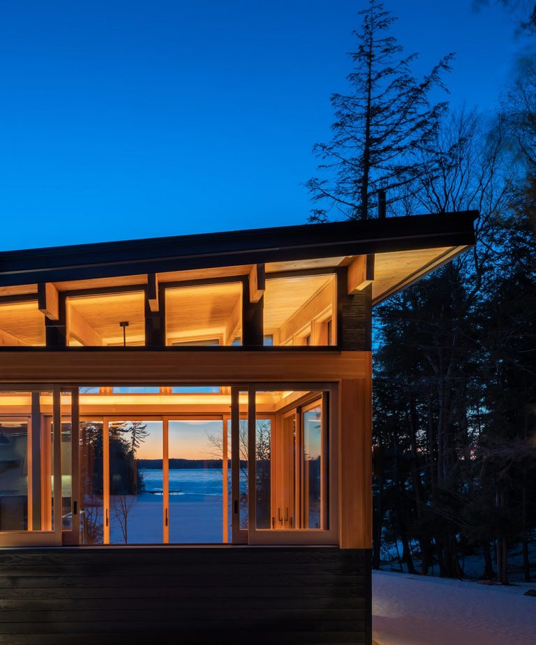 Trevor McIvor Architect Muakoka Lakefront Cottage