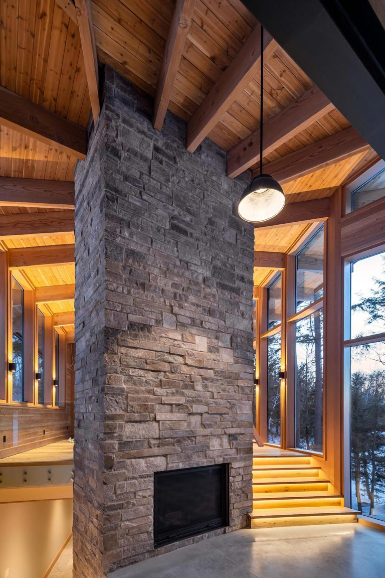 Trevor McIvor Architect Toronto Muskoka Cottage Custom Home Design