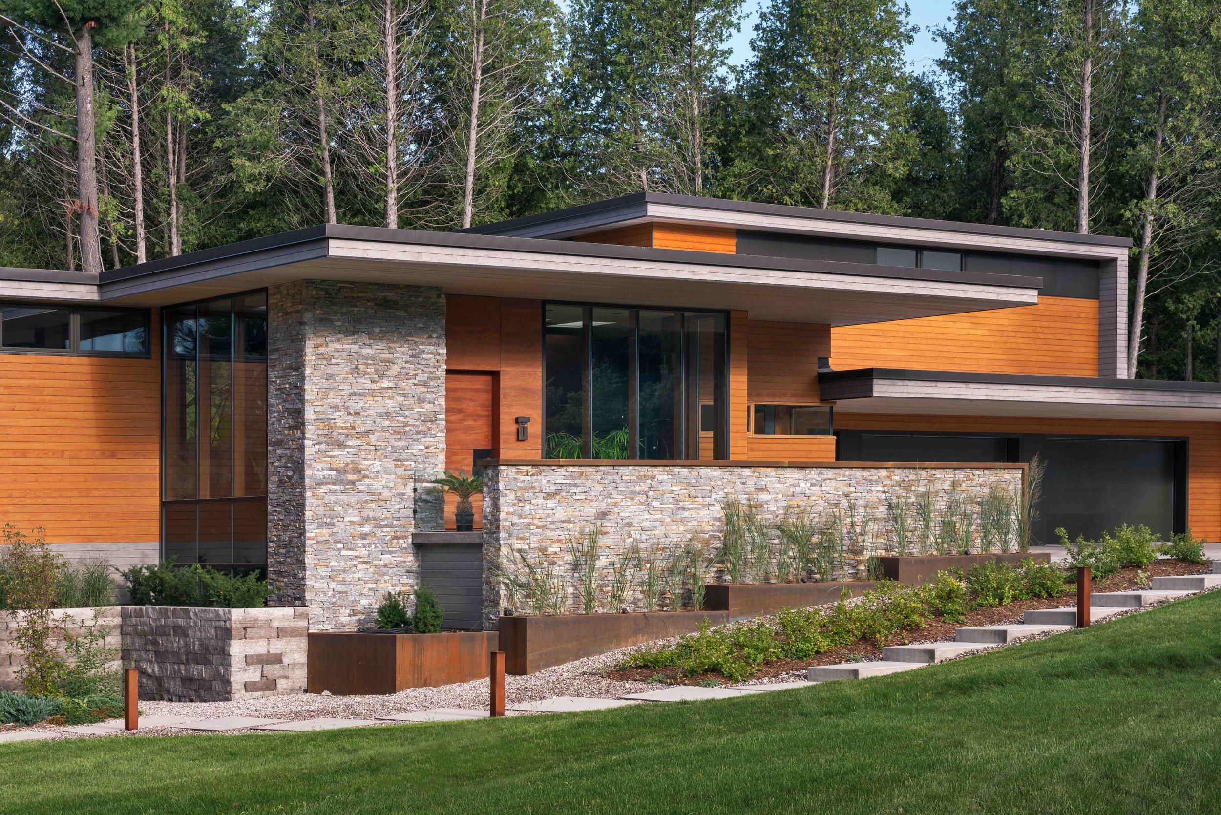 Modern house design by trevor mcivor architect toronto