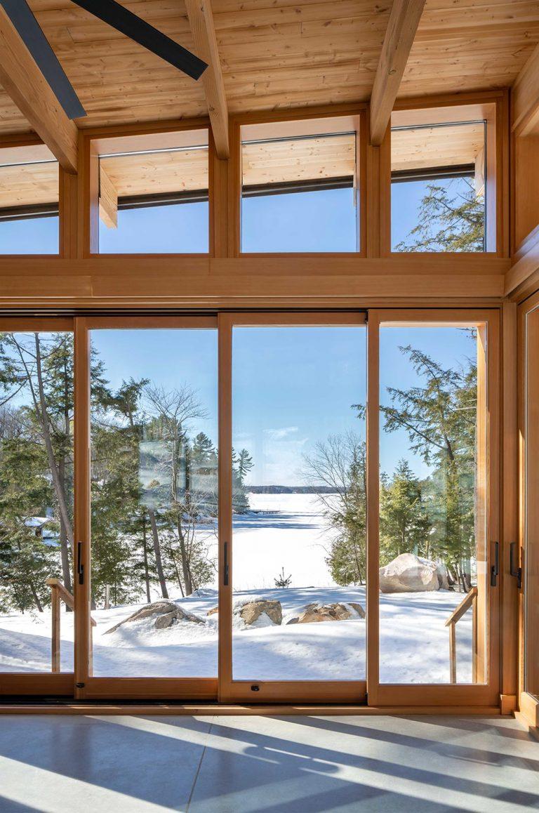 Modern Muskoka Lakefront Four-Season Cottage