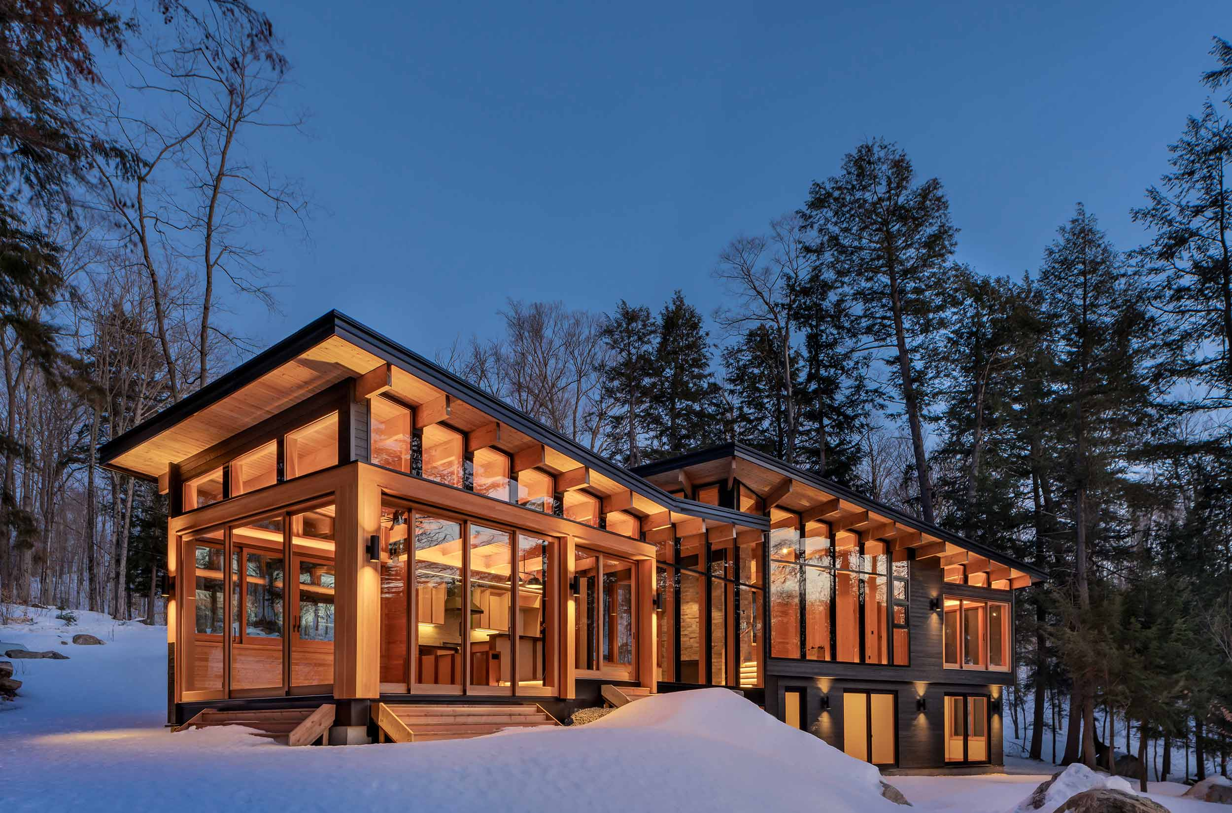 Trevor McIvor Architect Toronto Modern Cottage Designer Builder